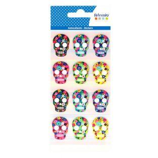 Stickers puffies - Viva la vida - Skulls