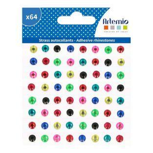 64 adesivi diamantati - Viva la vida