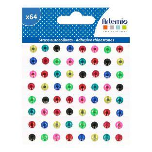 64 pegatinas de diamantes - Viva la vida