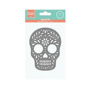 Matriz de corte de cráneo - Viva la vida