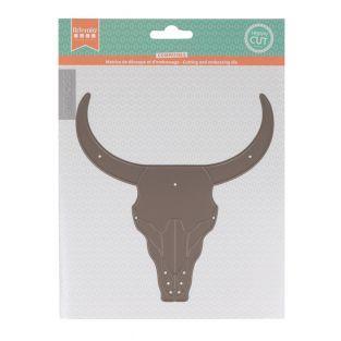 Matriz de corte - Cabeza de búfalo -...