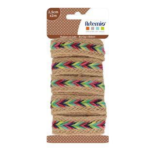 Jute ribbon - Viva la vida - 2 m x...