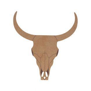 Wooden silhouette mdf - Buffalo - 15...