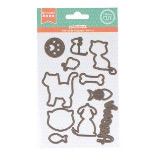 Matriz de corte - Mascotas