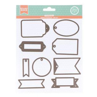 Stampo da taglio - Etichette