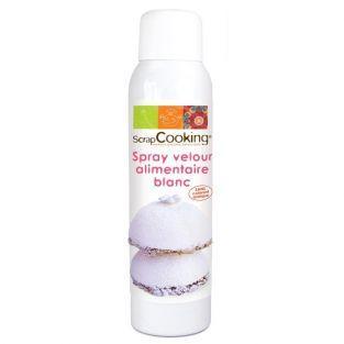 Weißes Samtspray 150 ml