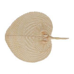 Bamboo fan - Viva la vida - 37 x 30 cm