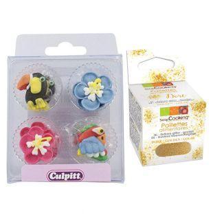 12 decoraciones dulces Culpitt...