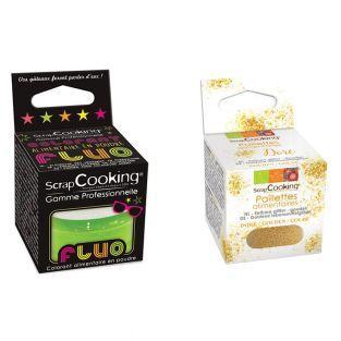 Food coloring powder 3 g neon green +...