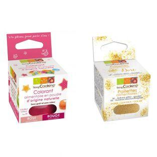 Colorant alimentaire Rouge +...