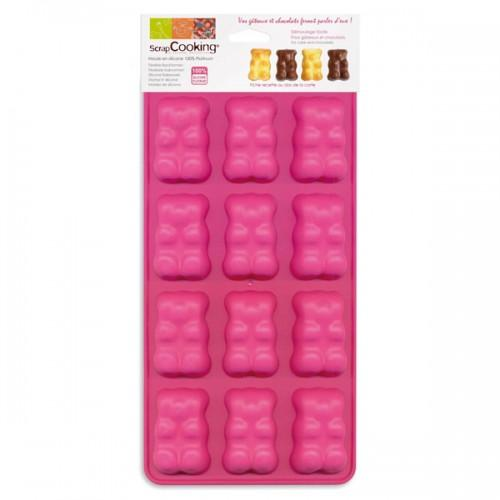 Chocolate silicon mould - Bears