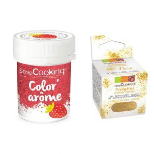 Colorant alimentaire rose arôme...