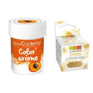 Colorante alimentario naranja con...