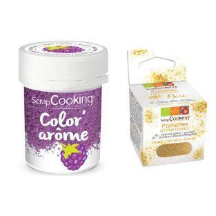 Purple food dye Blackberry flavor 10...