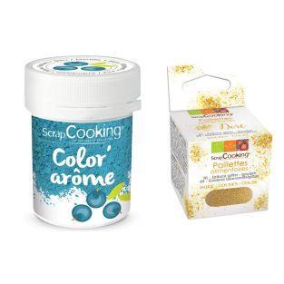 Lebensmittel-Farbstoff Aroma blau /...