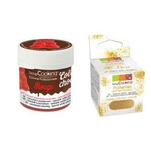 Colorant alimentaire liposoluble...