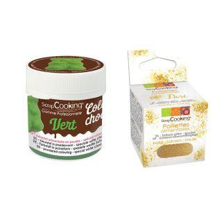 Colorant alimentaire liposoluble vert...