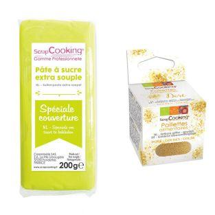 Easy-to-roll sugar paste 200 g lime...