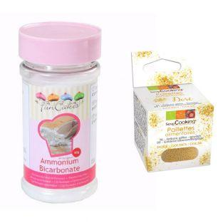 Ammonium Bicarbonate 80 g + Edible...