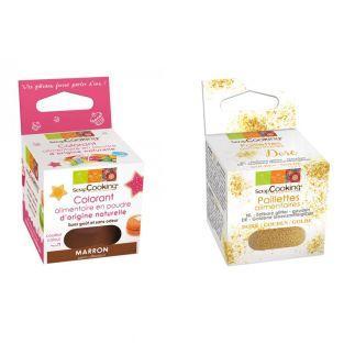 Natural Food coloring Brown + Edible...