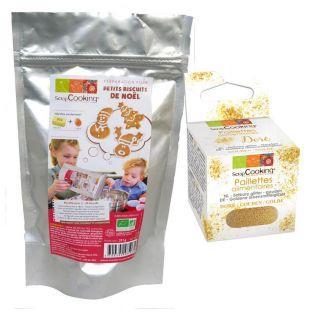 Kit for Christmas cookies + Edible...