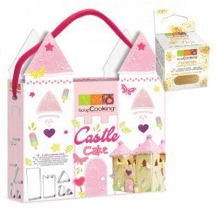Castle Cake cookie cutters Kit +...