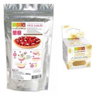 Sweet tart pastry mix 285 g + Edible...