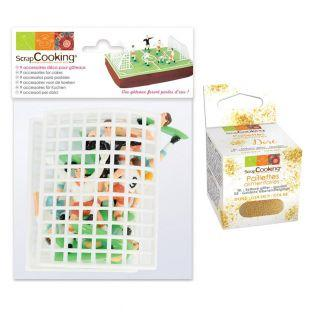 Cake accessories kit Football +...