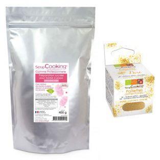 Cotton candy sweet mix 400 g pink +...