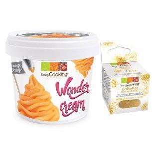 Crema pastelera Wonder 150 g Naranja...