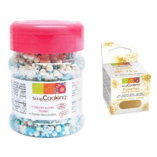 Decoraciones de azúcar 50 g Frozen +...