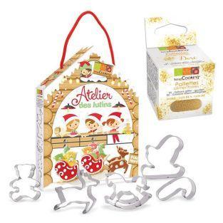 Kit de pastelería Duendes + Brillo...