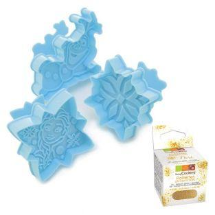 Plunger cutters Frozen + Edible...