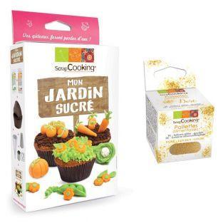 Kit de pastelería Mi jardín dulce +...