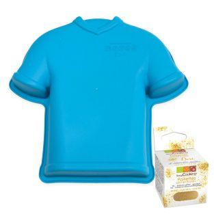 Soccer jersey silicone cake mold +...