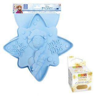 Silicon cake mold Star Frozen +...