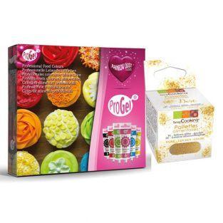 ProGel 6 gel food coloring set +...