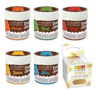 5 colorants liposolubles...