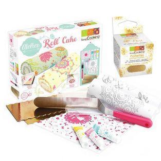 Coffret atelier Roll' Cake +...