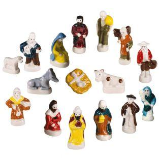 4 little porcelain figurines for...