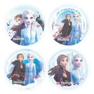 4 Edible wafer disks - Frozen