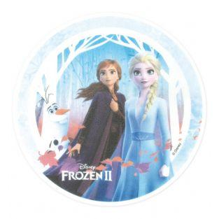 Edible wafer disk - Frozen - Elsa,...