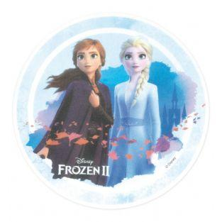 Edible wafer disk - Frozen - Elsa &...