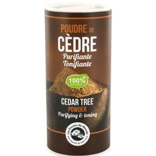 Cedar tree powder