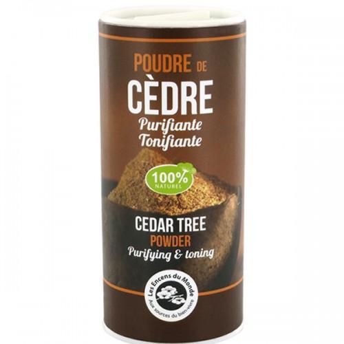Cedar tree powder