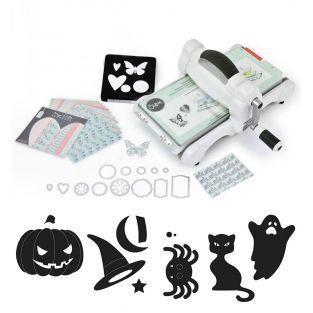 Sizzix Big Shot Stanzmaschine + 7...