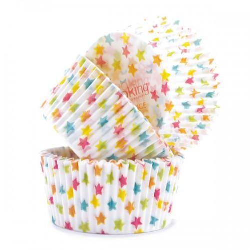 Cápsulas para Cupcakes - estrellas