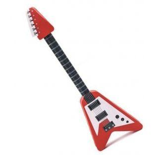 Lápiz de guitarra y goma de borrar