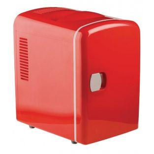 Red portable fridge 50W