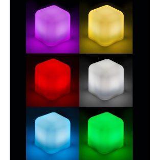 LED-Würfel-Lampe